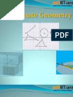 IIT JEE Coordinate Geometry- Preparation Tips to Practical Applications! - askIITians
