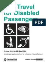 Rail Travel for Disabled