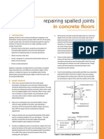 Repairing Spalled Joints
