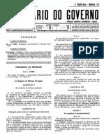 Lei Orgânica do Ultramar _ 1953