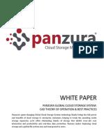 Panzura CAD Theory of Operation