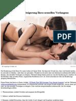 28 Lebensmittel Zur Steigerung Ihres Sexuellen Verlangens