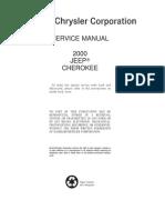 Jeep Cherokee Service Manual 2000