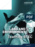 Btec l3 Land Teaching Btec