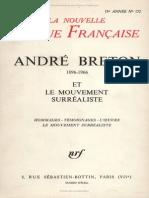 NRF Andre-Breton-et-le-mouvement Surr.