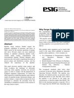 1417 Pipeline Surge Analysis Studies Atmos_PSIG