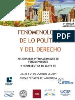 3 CircularFenomenología de Lo Político y El Derecho