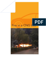 Fire in A CNG Bus (Netherland)