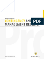 Contingency and Management Reserve