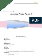 Lesson Plan for Year 3 Grammar
