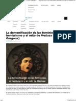 El Hembrismo y La Demonización Del Feminismo