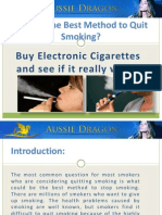 What is the Best Method to Quit Smoking?