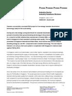Siemens R&D Project on Low-Energy Seawater Desalination