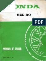 Manual Honda Scoopy SH 80 y 75