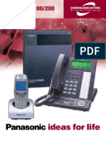 KX-TDA50100200 Brochure FDv5