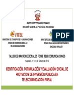 Fonie Taller 07presentacion Conjunta Telecom Dgpi Fitel