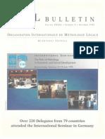 Oiml Bulletin Oct 1998