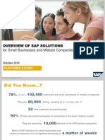 SAP for Small Business and Midsize Companies