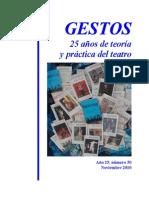 Revista gestos
