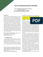 Characterizing Cloud Computing Hardware Reliability