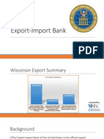 Export-Import Bank Webinar July 2014