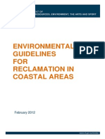 Coastal Reclamation Guidelines