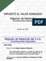 Ponencia Retencion IVA -2005 Ramiro-Contribuyentes Esp.