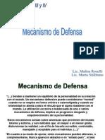 Mecanismos de Defensa. Roselli-Stillitano