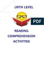 4th Level - Readings