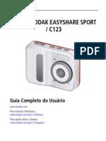 Manual Camera KodakC123 XUG Pt-br