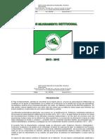 Plan Mejoramiento Itsim 2013 - 2015