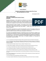 140828 CARTA PÚBLICA_Gobernador Oaxaca_Defensora Silvia Pérez Yescas