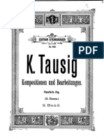 Originalkompositionen Und Bearbeitungen Klassischer Werke Für Pianoforte (Tausig, Carl) Volumen 2