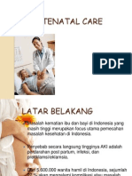 Antenatal Care Indonesia