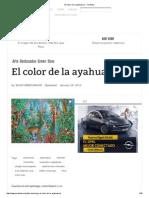 El Color de La Ayahuasca - Yorokobu