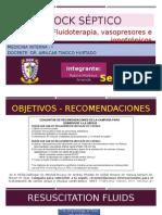 4. Fluidoterapia, Vasopresores, Ionotrópicos