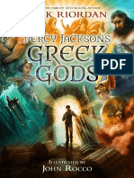 Percy Jackson Greek Gods