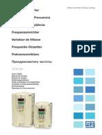 Weg Automation Cfw-09 Users Manual