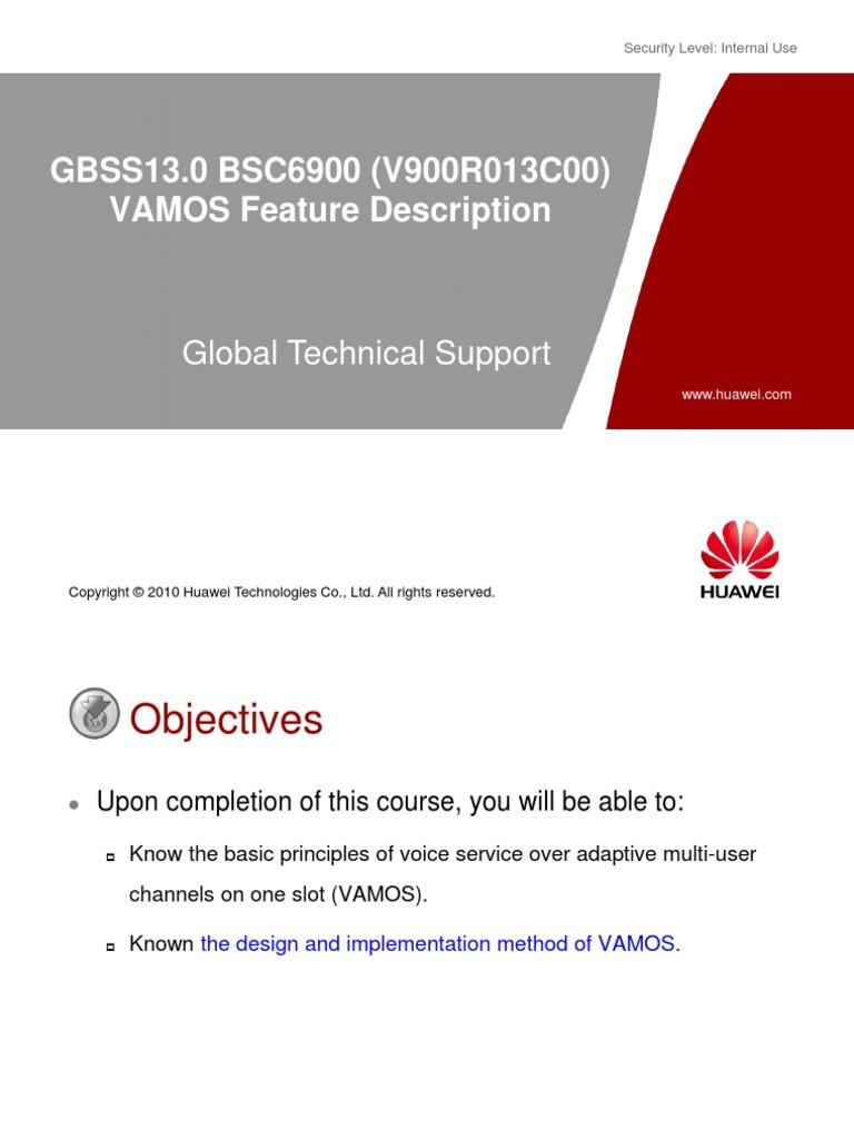GBSS13 0 BSC6900 (V900R013C00) VAMOS Feature Description