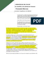 Aprendizaje Sobre El Dolor Fernando Barcena