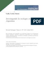 Investigando Teologia Nuestra Argentina