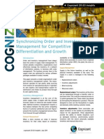 Synchronizing Order and Inventory Management for Competitive Differentiation and Growth