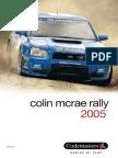 MANUAL for Colin Mcrae Rally 2005