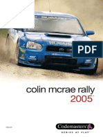 MANUAL for Colin Mcrae Rally 2005