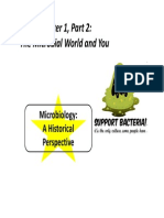 SP14 3332 CH 1 Part 2 - The Microbial World & You(1)
