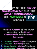 Summary of the Purposes of the Church