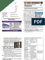 June 2012 Legal Advisories