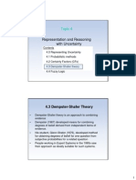 1 Dempster Shafer Theory