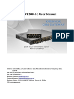 OpenBox vs-GW1200-4G User Manual