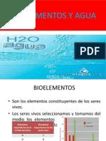 Bioelement., Agua y Solucion.